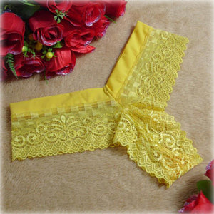 JBC Sexy Lace V-string Panties