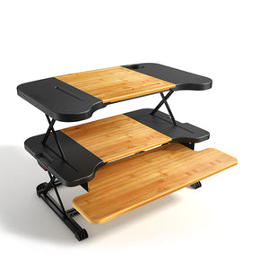 Konesky- 2018 Portable & Height Adjustable Bamboo Laptop Desk