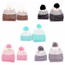 Shop.Mall.University- (PUSEKY) 2Pcs Adorable Mother and Baby Matching Knitted Beanies, , Shop Mall University. All at a low price to help you save money and live great! Only here at - Shop Mall University