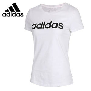 Adidas- Women's Original 2018 Short Sleeve Adidas LOGO T-shirts