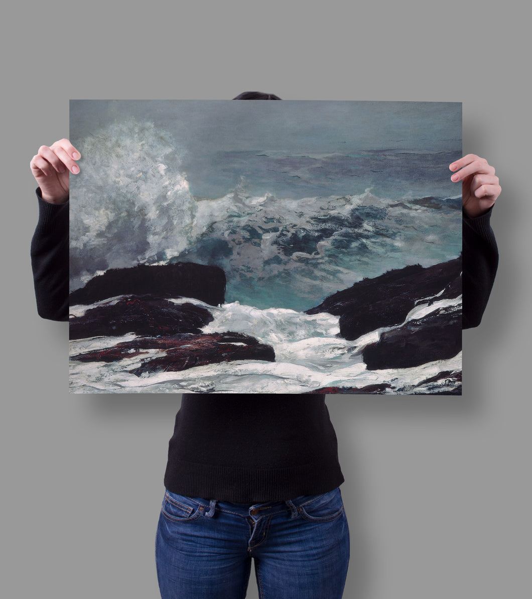 Shop.Mall.University- Maine Coast by Winslow Homer 18x24 Poster, , Shop Mall University. All at a low price to help you save money and live great! Only here at - Shop Mall University