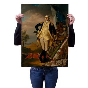 Shop.Mall.University-George Washington by James Peale 18x24 Poster