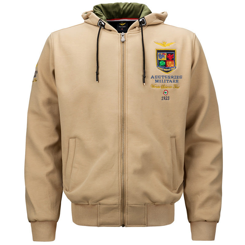 Shop.Mall.University- Men Air Forces Hoodie