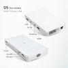 AUN D5S Smart Projector Android 7.1 WIFI Bluetooth HDMI Home Theater Mini Projector
