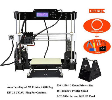 Anet A8 Auto level 3D Printer Home DIY Kit