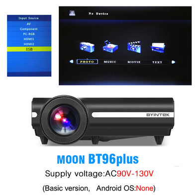 Moon BT96Plus 1080P HD Android Wifi Smart Video LED Projector For Home Theater