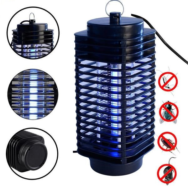 Electric Mosquito Fly Moth Wasp Insect Killer LED Bug Zapper -