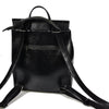 Minimalist Slim Leather Womens Backpack