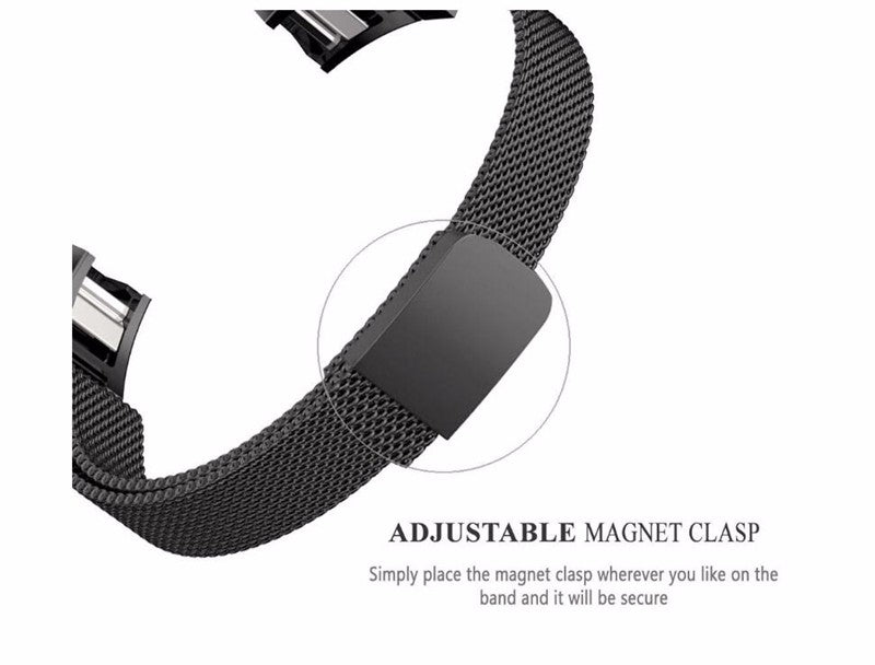 Fitbit Charge 2 Magnetic Milanese Band -