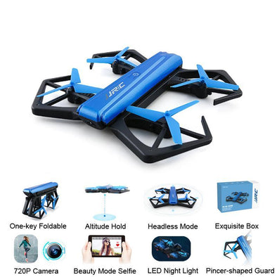 JJRC H43WH H43 Elfie WIFI Mini FPV Drone With HD Camera Altitude Hold Foldable Arm