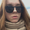 Vintage Ellipse Shape Sunglasses For Women