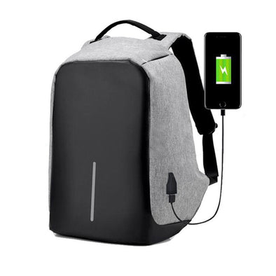 Anti-Theft USB Charging Utility Backpack