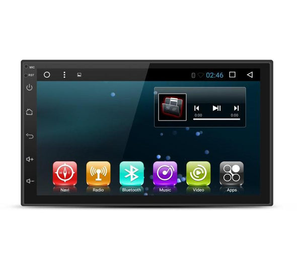 7'' Touch Screen 2 Din Android Car Radio Bluetooth Multimedia Player Quad Core