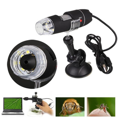 Portable 1000X LED USB 1080p Microscope Camera
