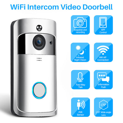 Smart Night Vision Video Doorbell