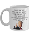 Great Dad Donald Trump Coffee Mug | Gift For Dad | Dad Birthday Gift | Father's Day Gift