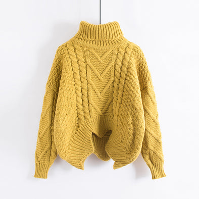 Women's Loose Collar Sweater