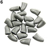 20 Pcs Soft Pet Dog Cat Paw Claw Control Nail Caps Cover