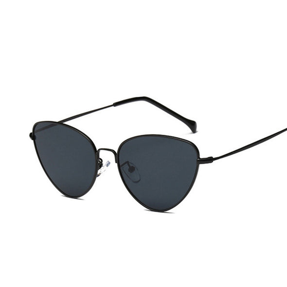 Retro Vintage Tinted Lens Luxury Cat Eye Sunglasses