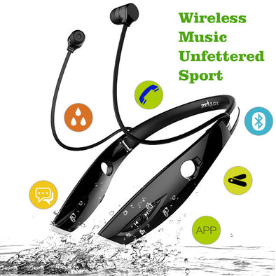Wireless Bluetooth Foldable Earphone Headphone with Mic