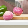 Stainless  Vegetable Fruit Safety Holder