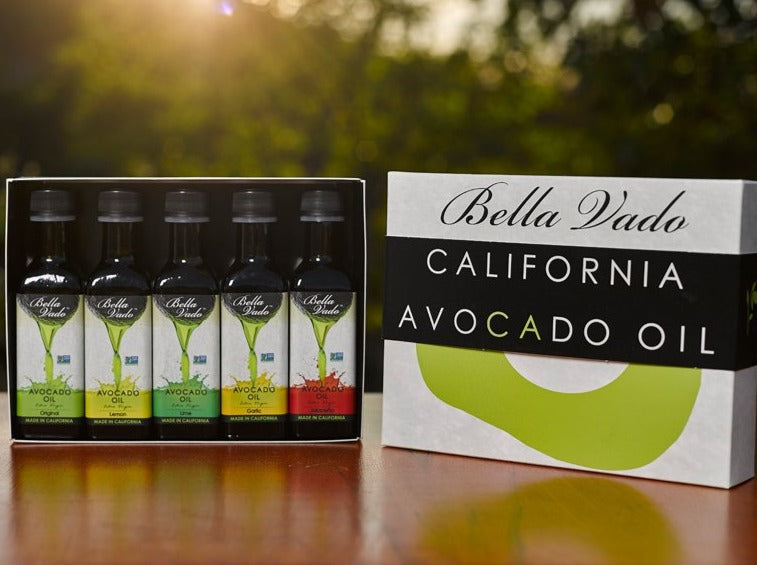 Avocado Oil Gift Set (five 3.4 oz bottles)