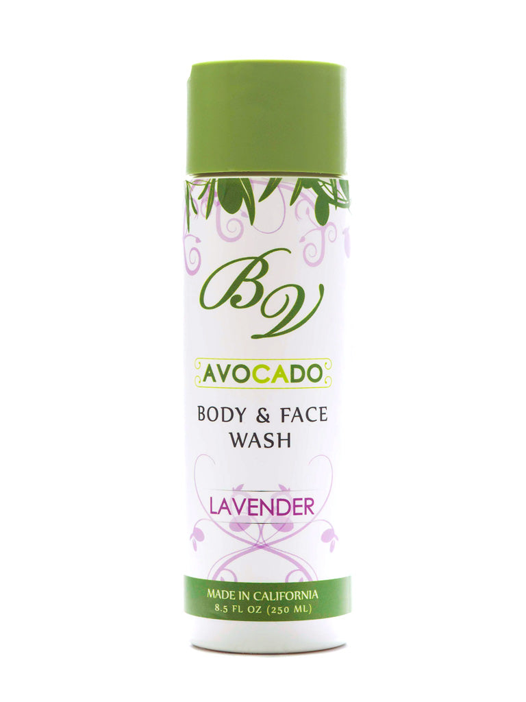 Lavender Body and Face Wash