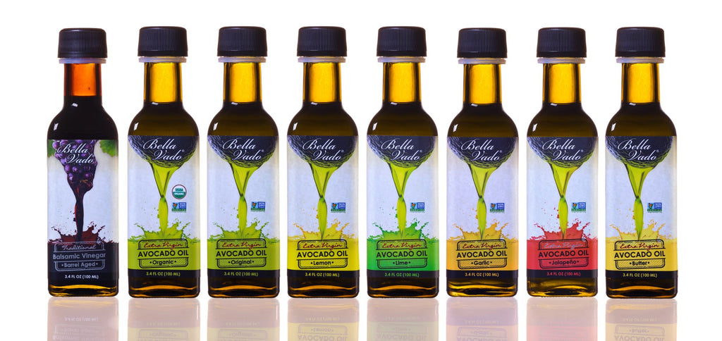Avocado Oil Mini Gift Set (five 3.4 oz bottles) - Custom Selection