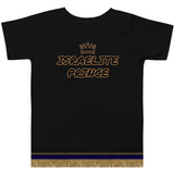 Israelite Prince Toddler Short Sleeve T-Shirt With Gold Fringes