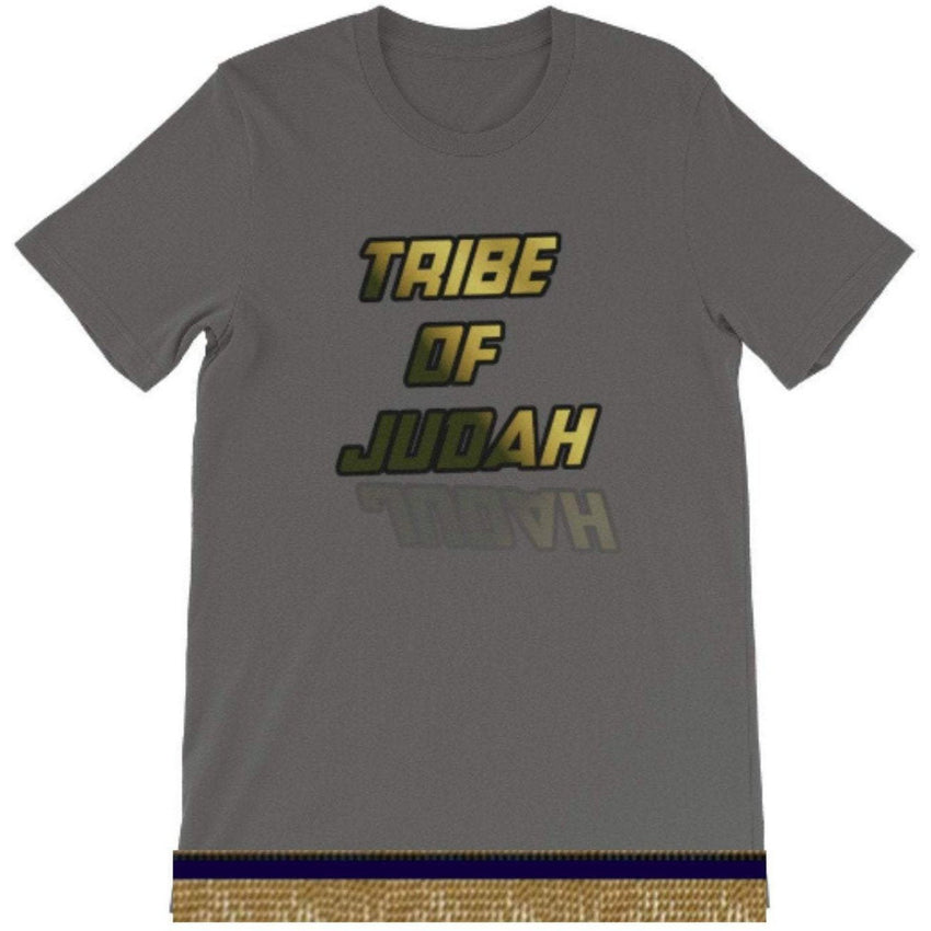 Tribe Of Judah Short Sleeve T-Shirt With Fringes