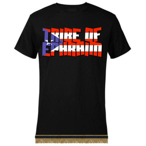 Israelite Tribe Of Ephraim Short-Sleeve T-Shirt With Fringes