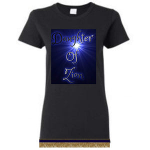 Israelite Daughter Of Zion Short-Sleeve T-Shirt With Fringes