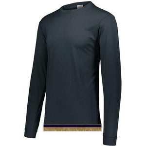Asphalt Performance Long Sleeve T-shirt With Fringes