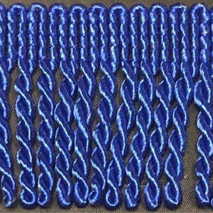 "2"" 27 Yards Royal Blue Premium Bullion Fringes"