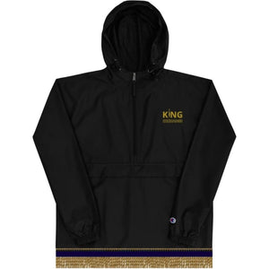 King Exchange Champion Pull Over Windbreaker With Gold Fringes