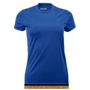 Women's Royal Blue Performance Shirt With Fringes