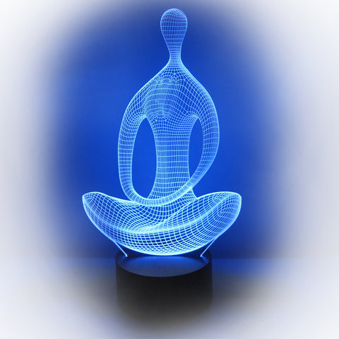 3D Meditation Illusion Lamp - MrLifeHack