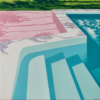 Poolside Bliss - Limited Edition Print