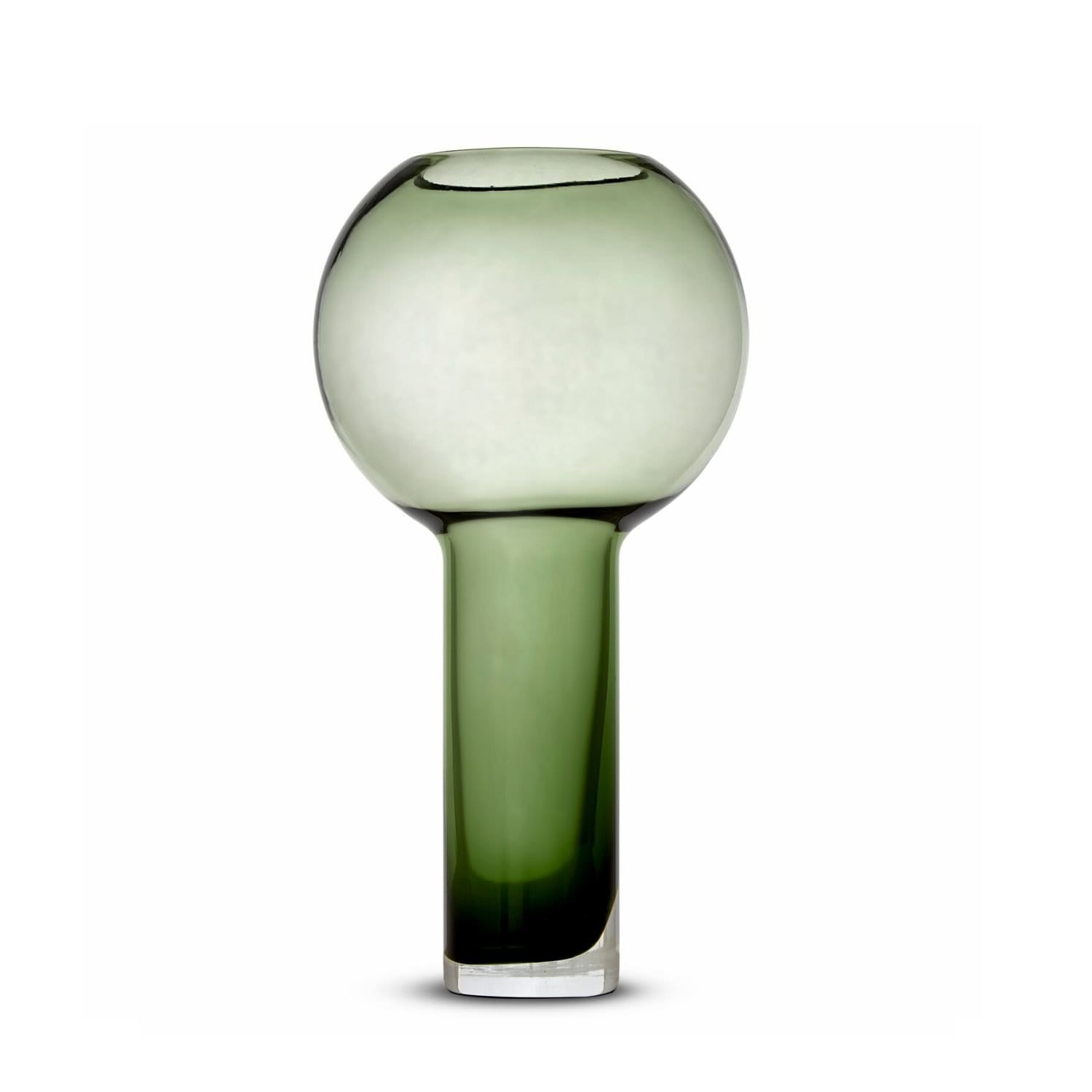Balloon Vase Green (L) by Marmoset Found | Shop Glass | Greenhouse Interiors