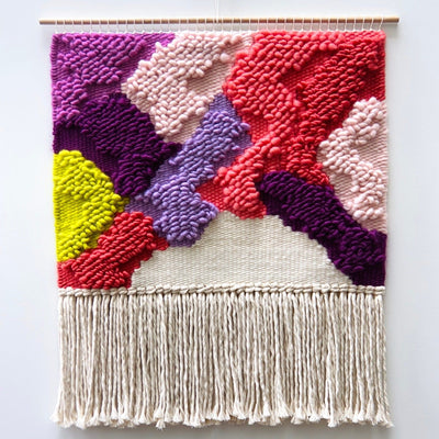 Bloom 1 Handwoven Wall Hanging