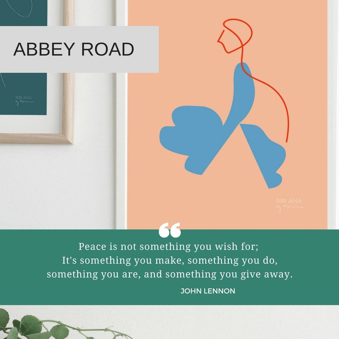 Abbey Road - Limited Edition Print by Bibi Ana + Co | Shop Prints | Greenhouse Interiors