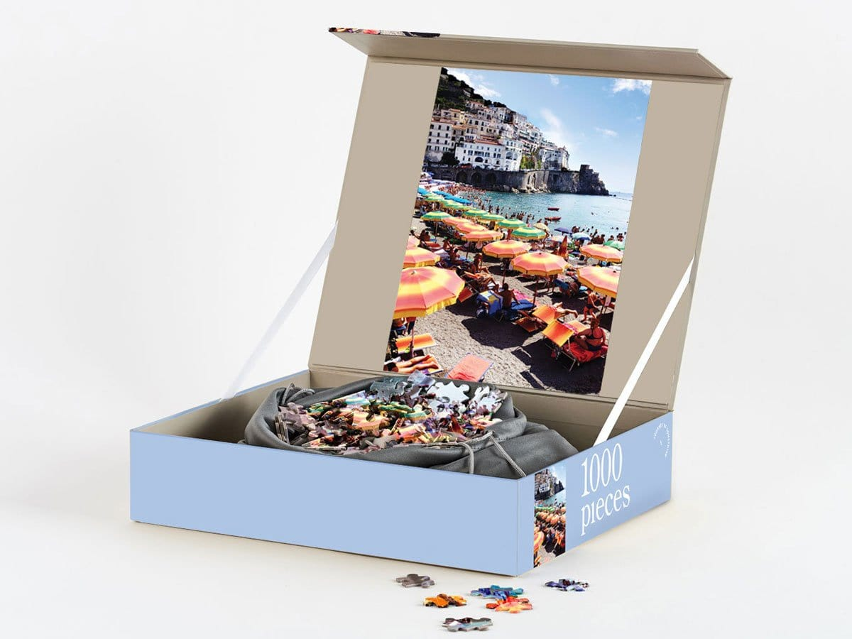 1000 Piece Puzzle - Amalfi Neapolitan by Journey of Something | Shop Puzzles | Greenhouse Interiors