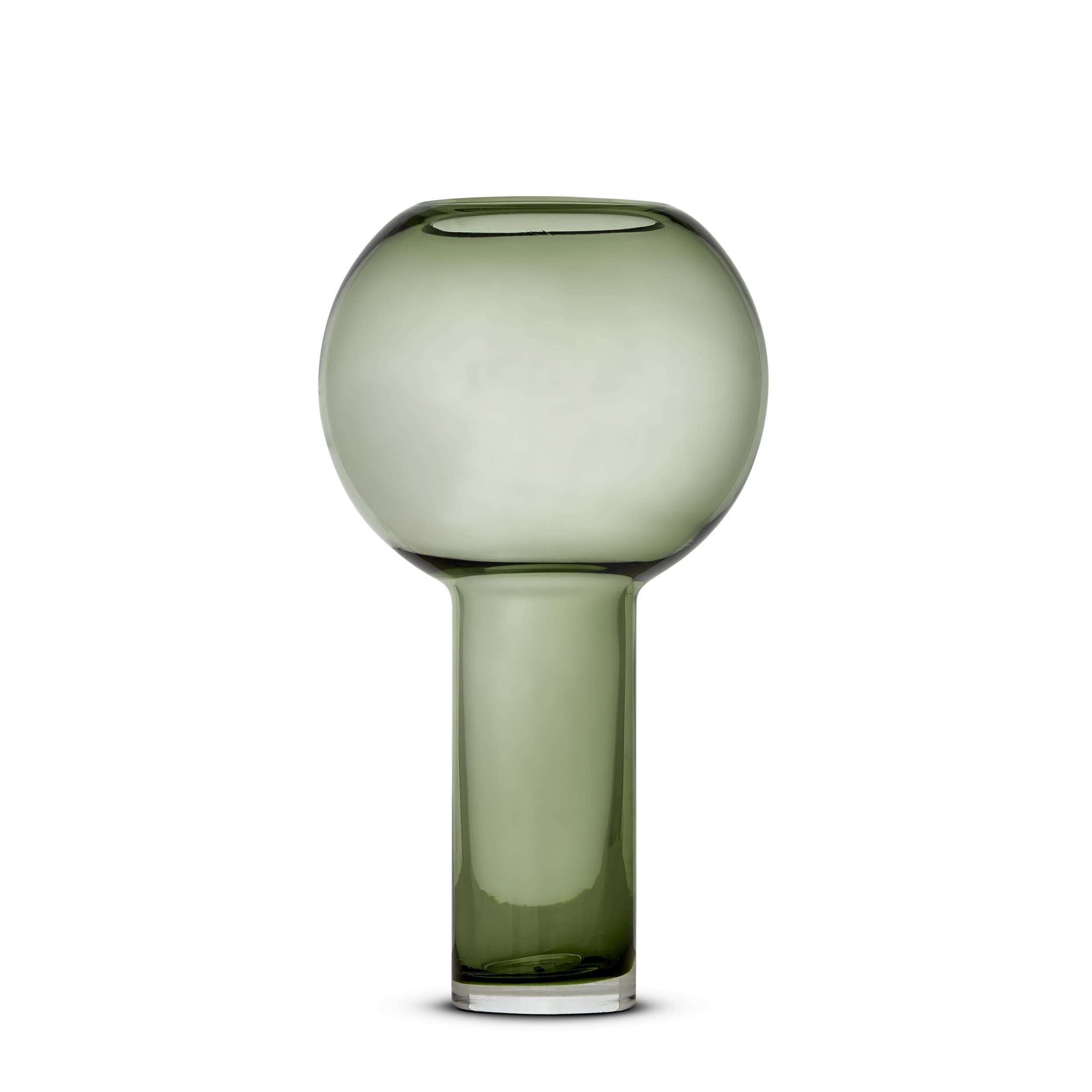 Balloon Vase Green Small by Marmoset Found | Shop Glass | Greenhouse Interiors
