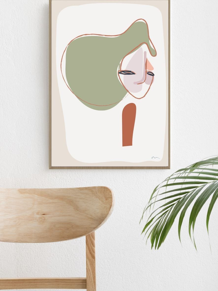 Cer Mien Colour Print by Bibi Ana + Co | Shop Prints | Greenhouse Interiors