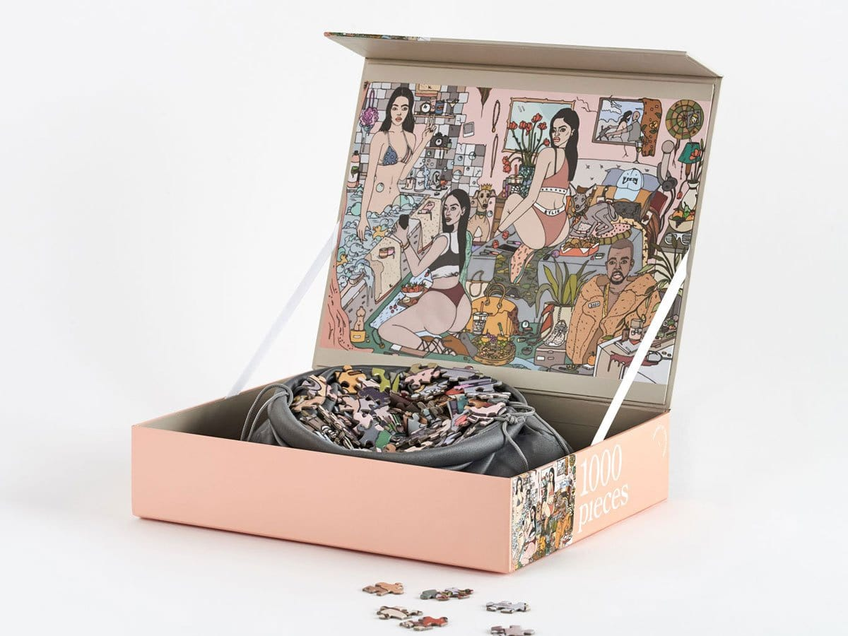 1000 Piece Puzzle - Edition K by Journey of Something | Shop Puzzles | Greenhouse Interiors