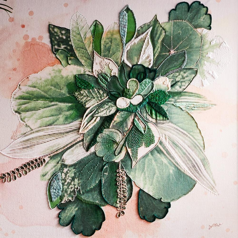 Lucky - Original by Fleur Woods | Shop Original Art | Greenhouse Interiors