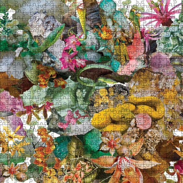 1000 Piece Puzzle - Flora + Edition-Puzzles-Journey of Something-Greenhouse Interiors