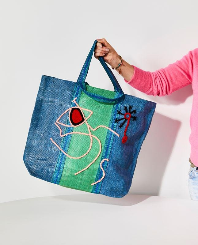 Moroccan Recycled Art Bag-Lifestyle-Greenhouse-Greenhouse Interiors