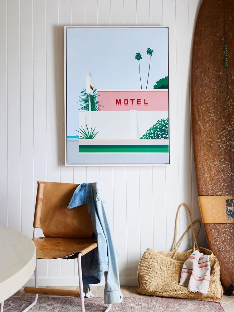 Motel - Limited Edition Print-Prints-Kate Jansen-Greenhouse Interiors