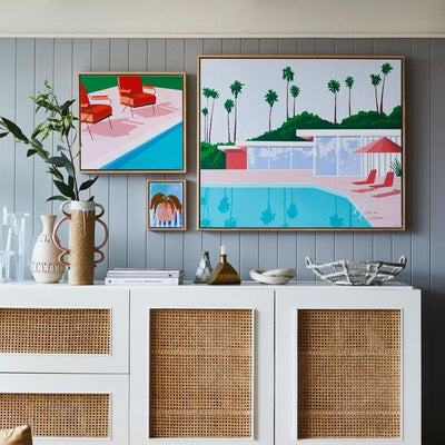 Palm Vista - Limited Edition Print